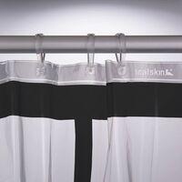 Sealskin Shower Curtain Brix Transparent - Transparent