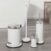 Sealskin Toilet Brush and Holder Acero White 361730510 - White