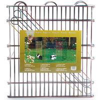Beeztees Rabbit Pen 6 Panels 66.5x58 cm Metal - Multicolour