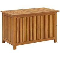 vidaXL Garden Storage Box 90x50x58 cm Solid Acacia Wood - Brown