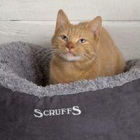 Scruffs Cat Bed Cosy Grey - Grey
