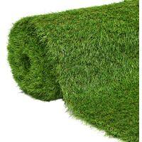 vidaXL Artificial Grass 1.5x10 m/40 mm Green - Green