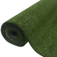 vidaXL Artificial Grass 1.5x10 m/7-9 mm Green - Green