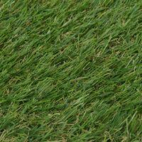 vidaXL Artificial Grass 1.5x10 m/20 mm Green - Green