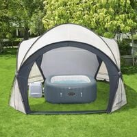 Bestway Lay-Z-Spa Dome Tent for Hot Tubs 390x390x255 cm - White