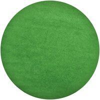 vidaXL Artificial Grass with Studs Dia.95 cm Green Round - Green