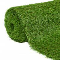 vidaXL Artificial Grass 1x15 m/40 mm Green - Green