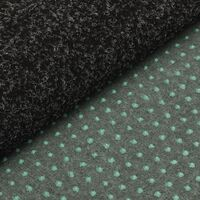 vidaXL Artificial Grass with Studs 2x1 m Anthracite - Anthracite