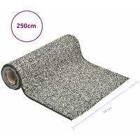 vidaXL Stone Liner Grey 250x40 cm