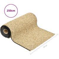 vidaXL Stone Liner Natural Sand 250x40 cm