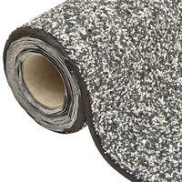 vidaXL Stone Liner Grey 1000x40 cm