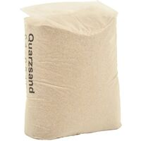 vidaXL Filter Sand 25 kg 0.4-0.8 mm