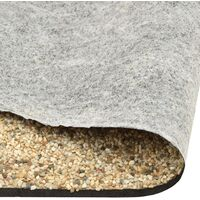 vidaXL Stone Liner Natural Sand 500x60 cm
