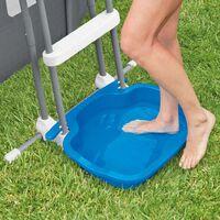Intex Pool Foot Bath 11.5 L 56x46x9 cm Blue - Blue