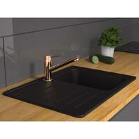 SCHÜTTE Sink Mixer CORNWALL Copper Look - Brown
