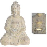 ProGarden Buddha With Solar Light Creme MGO - Cream
