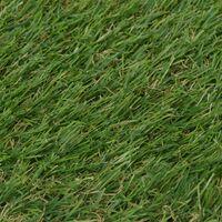 vidaXL Artificial Grass Green 1x5 m/20-25 mm - Green
