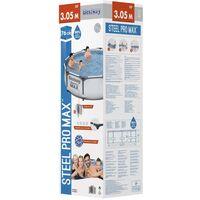 Bestway Steel Pro MAX Swimming Pool Set 305x76 cm - Grey