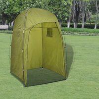 vidaXL Shower/WC/Changing Tent Green - Green
