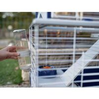 Ferplast Rabbit Cage Barn 120 119x58x77 cm Blue