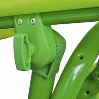 vidaXL Kids Swing Seat Green - Green