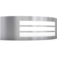 vidaXL Outdoor Wall Light Stainless Steel - Silver