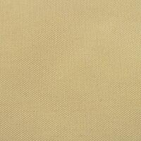 vidaXL Balcony Screen Oxford Fabric 90x400 cm Beige - Beige