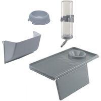 Ferplast Rabbit Cage Barn 100 96x57x73 cm Grey