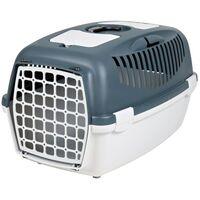 TRIXIE Dog Transport Box Capri 3 40x38x61 cm 39831 - Grey