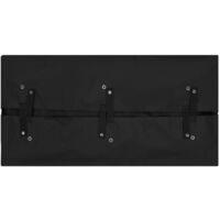 vidaXL Garden Cart Liner Black 86x46x41 cm Fabric - Black