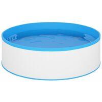 vidaXL Splasher Pool 350x90 cm White