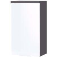 Germania Bathroom Wall Cabinet GW-Pescara Graphite White - White