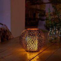 Luxform Solar LED Garden Light Coco - Black