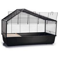 Beeztees Indoor Rabbit Cage Desi 100x52x68 cm Black - Black