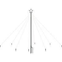 vidaXL LED Christmas Waterfall Tree Lights Indoor Outdoor 400 LEDs 2.5 m - White