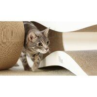 MyKotty Cat Scratcher LUI 75x25x25 cm White 3081 - White