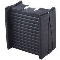 @Pet Foldable Dog Ramp 152 cm Black 10051 - Black