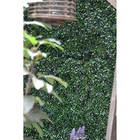 Emerald Artificial Grass Boxwood Mats 4 pcs Green 50x50 cm - Green