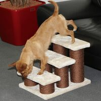 Kerbl Pet Steps Easy Climb 45x35x34 cm Brown 82410 - Brown