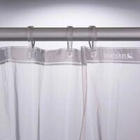 Sealskin Shower Curtain Clear 180 cm Transparent 210041300 - Transparent