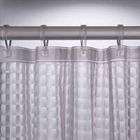 Sealskin Shower Curtain Prisma 180 cm Transparent 211181300 - Transparent