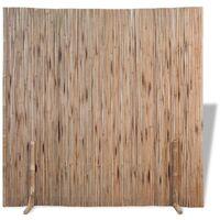 vidaXL Bamboo Fence 180x170 cm - Brown