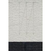 Nature Wire Trellis Set for Climbing Plants 6040760 - Grey