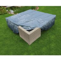 Nature Garden Furniture Cover for Low table and chairs 200x200x70 cm - Grey