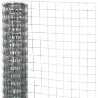 Nature Wire Mesh Rectangular 0.8x10 m Plastic Coated Steel Green