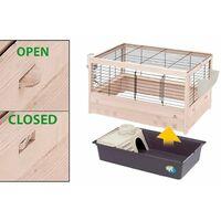 Ferplast Rabbit Cage Arena 100 100x62.5x51 cm - Black