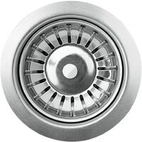 vidaXL Granite Kitchen Sink Single Basin Grey