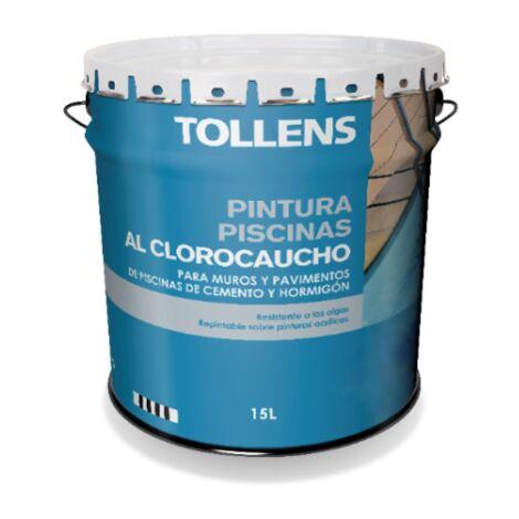 PINTURA CLOROCAUCHO PISCINAS TOLLENS 15 LT | Azul Marino 037 - Azul Marino 037