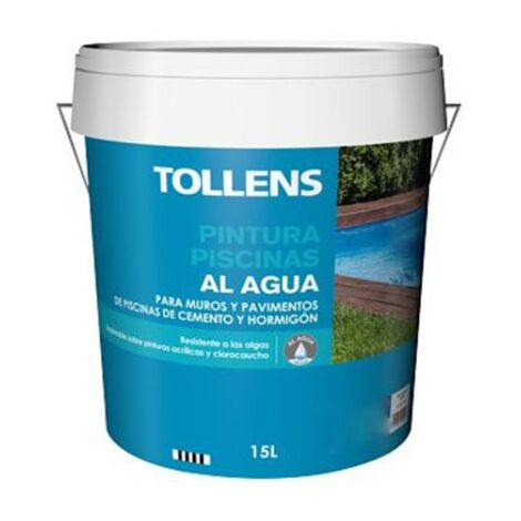 PINTURA PISCINAS AL AGUA TOLLENS 15 LT | Azul Marino 037 - Azul Marino 037