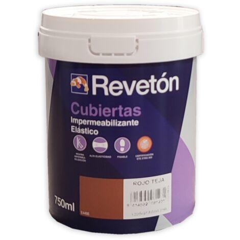 REVETON CUBIERTAS IMPERMEABILIZANTE 750 ML   Gris 035